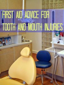 First Aid Advice for Tooth and Mouth Injuries