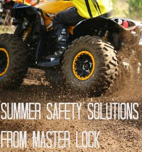 Summer Safety Solutions from Master Lock (Giveaway CAN)