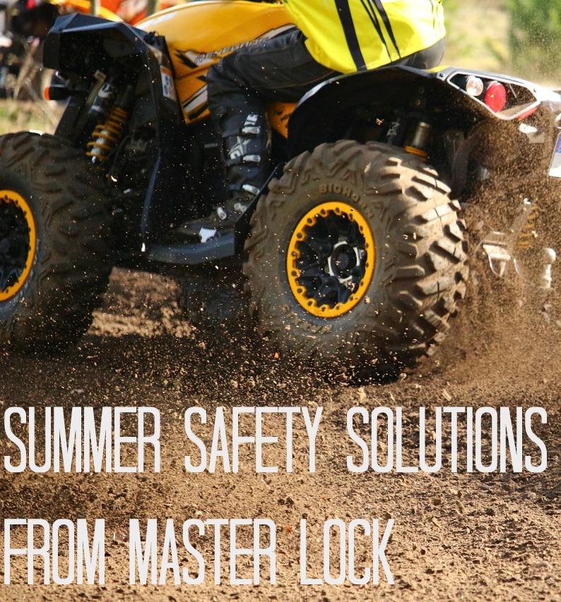 Summer Safety Solutions from Master Lock