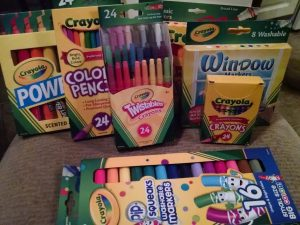 Crayola back to school
