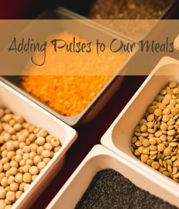 Adding Pulses to our meals