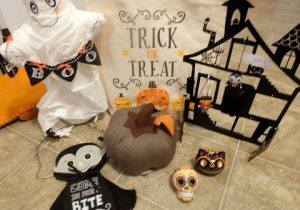 Halloween decor from Hallmark