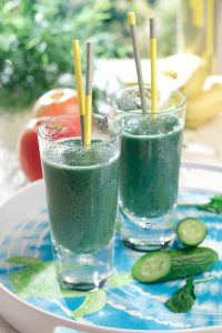 Green Get up and Go smoothie