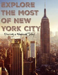 Explore the Most of New York City