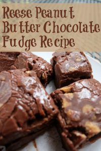 Reese Peanut Butter Chocolate Fudge Recipe