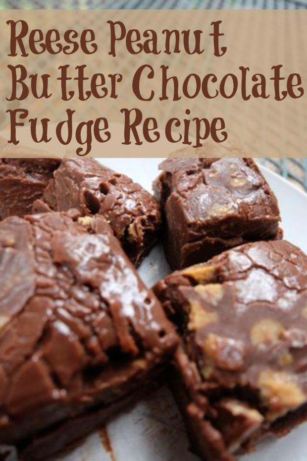 Reese Peanut Butter Chocolate Fudge Recipe