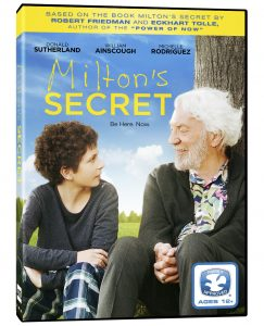 Milton's Secret DVD (Giveaway) #miltonssecret