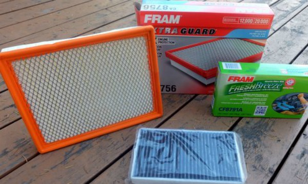FRAM Filters in Box