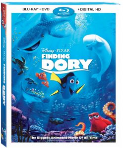 Finding Dory Blu-Ray Giveaway CAN