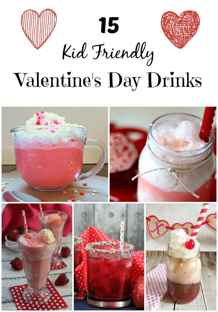 kid Friendly Valentine's Day drinks