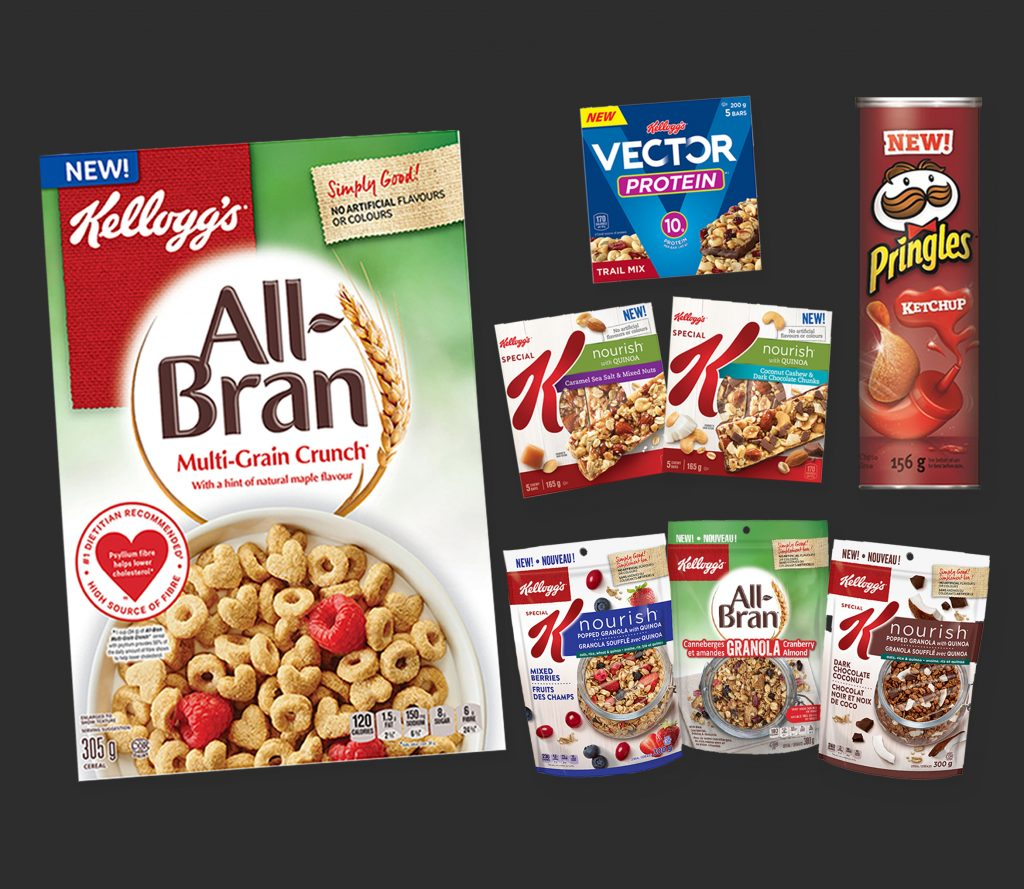 Kellogg's New products