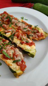 3-Cheese Spinach Lasagna Zucchini Boats Recipe