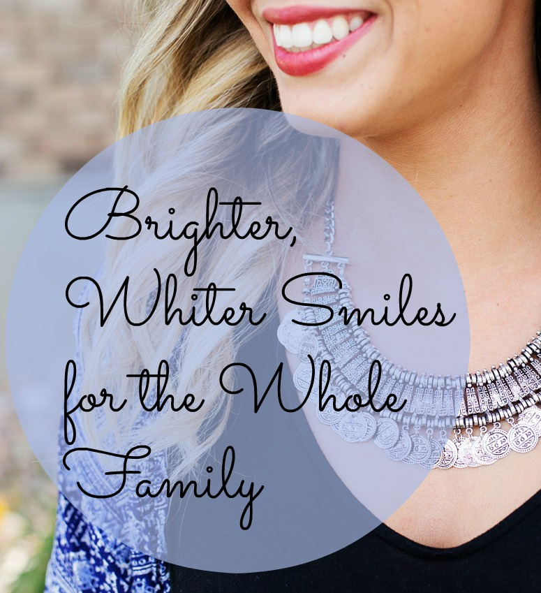 Brighter, Whiter Smiles for the Whole Family