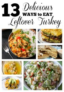 30 Minute Leftover Turkey Recipes