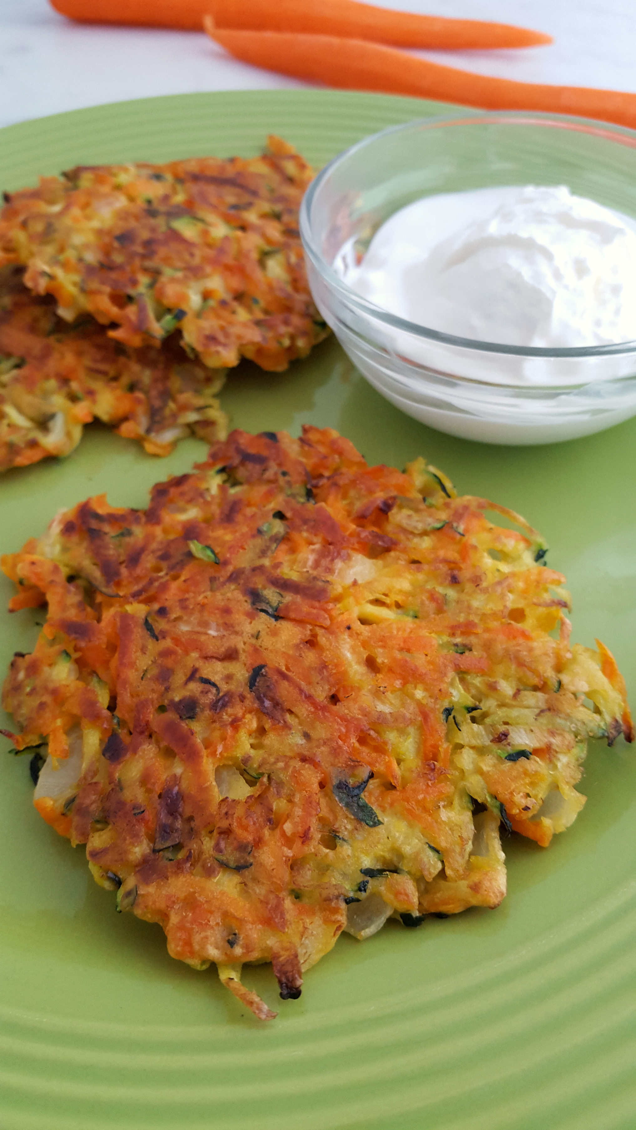 Homemade Garden Vegetable fritters