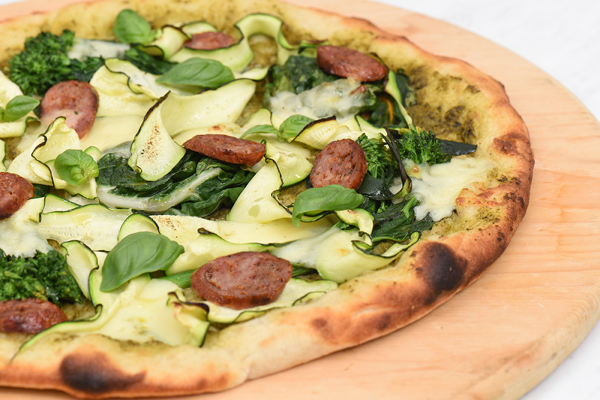 grilled turkey sausage and summer greens pizza S3 final LR