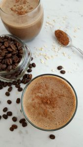 Coffee Oatmeal Banana Breakfast Smoothie Recipe