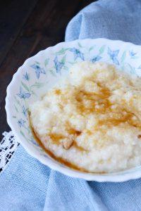 Brown sugar grits
