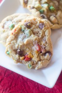Ooey Gooey Santa Cookies Recipe