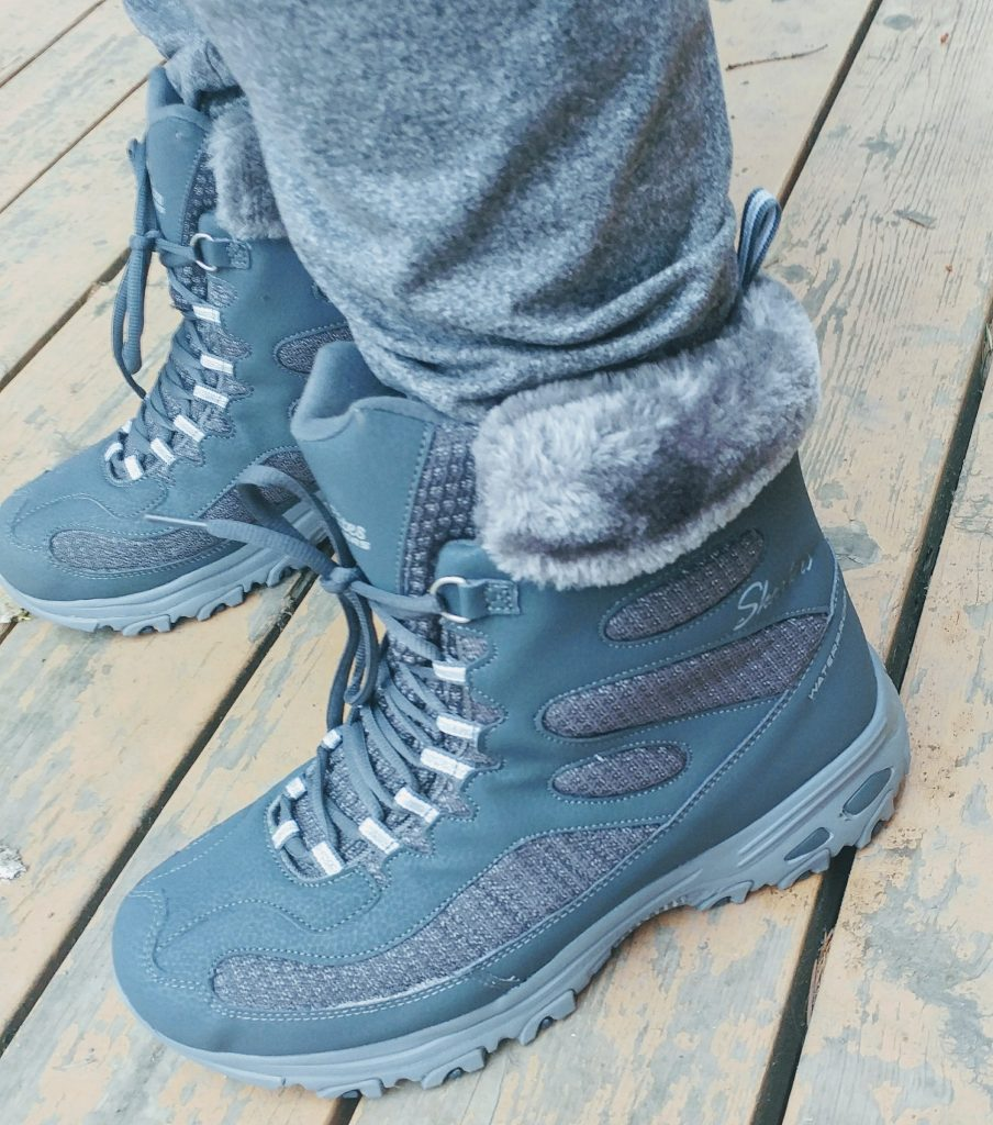 Keep Warm This Holiday Season With Skechers Boots