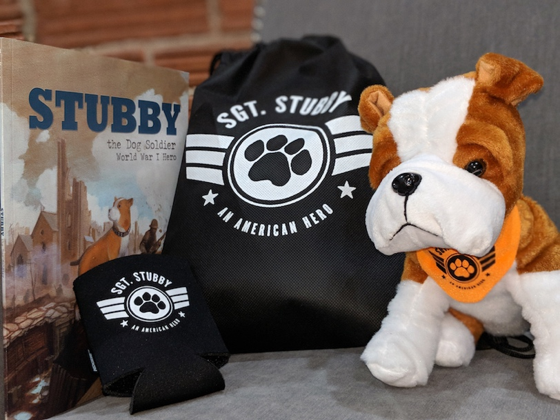 Sgt. Stubby prize pack
