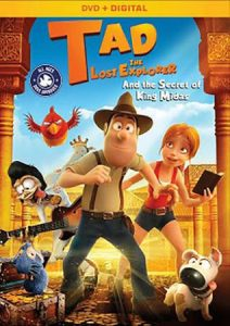 TAD the Lost Explorer and the Secret of King Midas DVD Giveaway