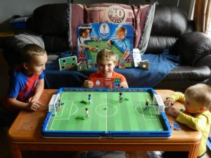 Kick off the Soccer Season with PLAYMOBIL's new FIFA Theme