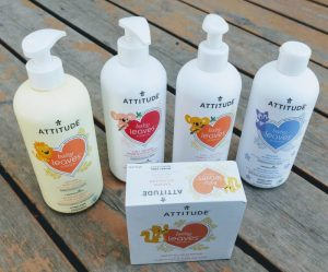 ATTITUDE : New Baby Leaves Skin Care Line Giveaway