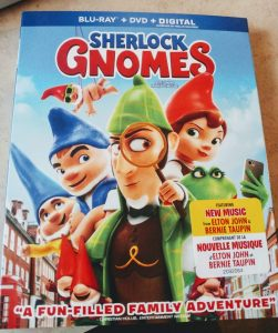 So Excited about Sherlock Gnomes on Blu-Ray & DVD