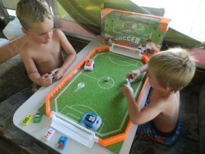 Robotic Soccer from HexBug