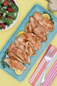 Quick & Tasty Honey Lemon Rosemary Turkey Tenders #TurkeyMakesItEasy Giveaway